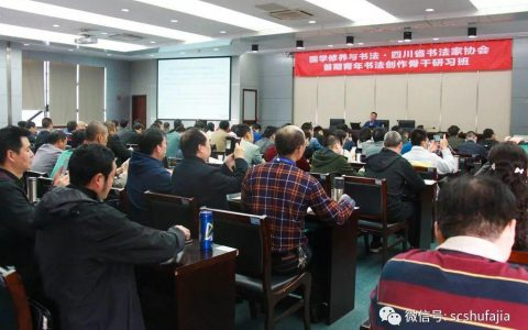 专题报道⑤| 国学修养与书法 刘志超主讲《中国传统文化语境下的历代书论》