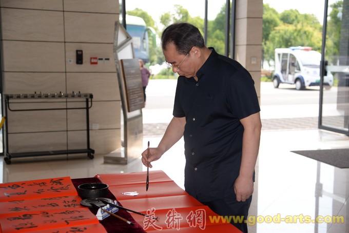 庆祝新中国成立70周年全国国展书法家提名展在汤湖美术馆展出