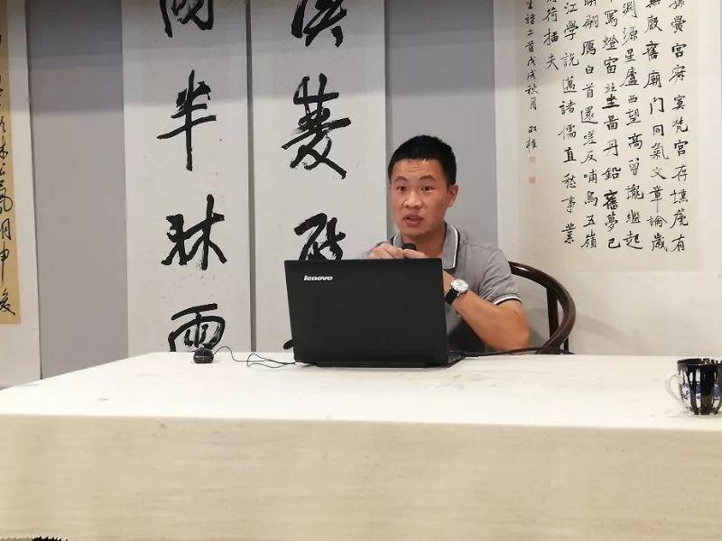 厉兵秣马  备战国展——龙泉驿书协举行国展第二次公益培训