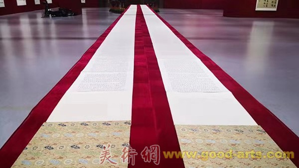 """""""盛世中国——庆祝中华人民共和国成立70周年书法大展""""在京开幕"""