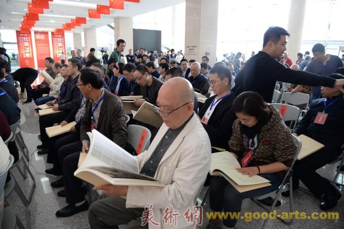 第七届世界军人运动会全国书法作品展在武汉开幕