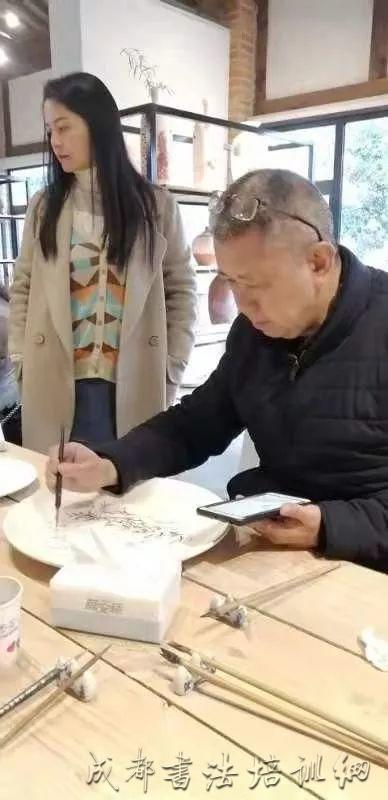 相约初冬   墨润邛窑——成都市锦江区书法家协会采风邛窑 –