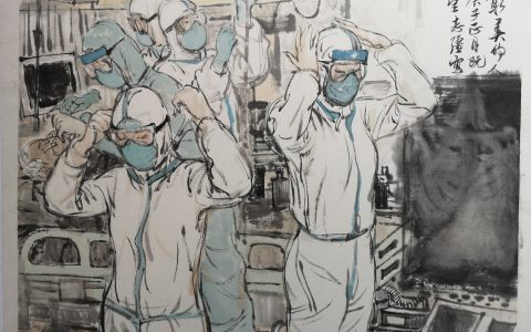 美术界抗击疫情创作记(五)