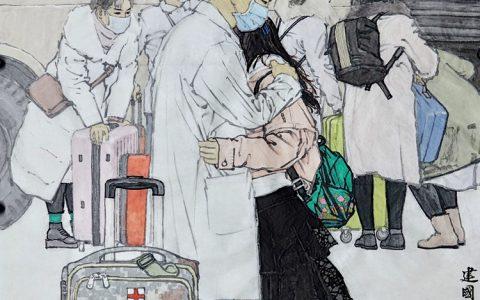 美术界抗击疫情创作记(七)