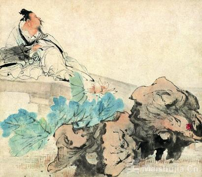 他为何能在大俗之中铺展海派绘画的大雅之美