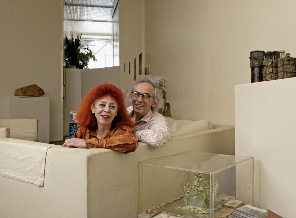"""蓬皮杜迎来大地艺术家克里斯托展,他的""""包裹""""计划尚未完成"""
