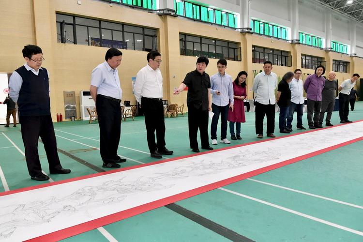 """内蒙古美术创作""""双万工程""""草图研讨会在扬州举行"""