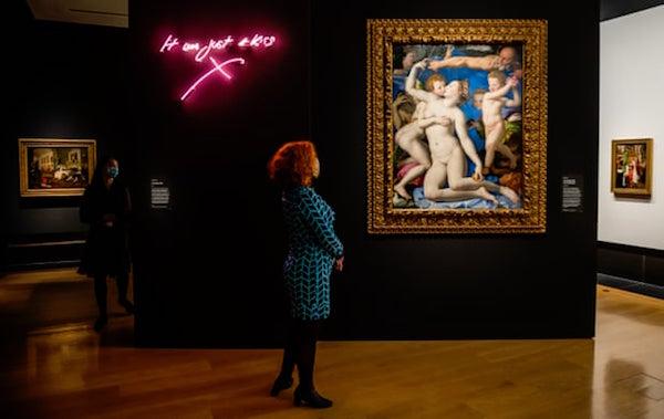 """英国国家美术馆里的""""邪恶珍宝"""":这只是一个吻"""