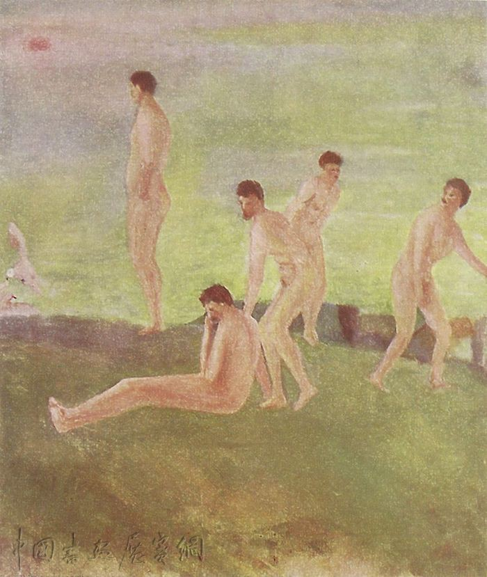 四十始作画的小说家劳伦斯:画出活生生的肉色肉质