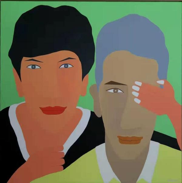 """从磁性声音到""""色彩捕手"""",主持人成笛展肖像人物画"""