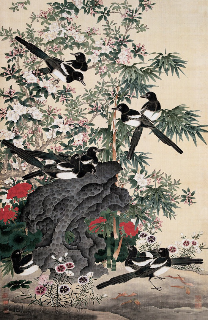 读陆小曼、周錬霞等笔下丹青,上海中国画院展女画师作品