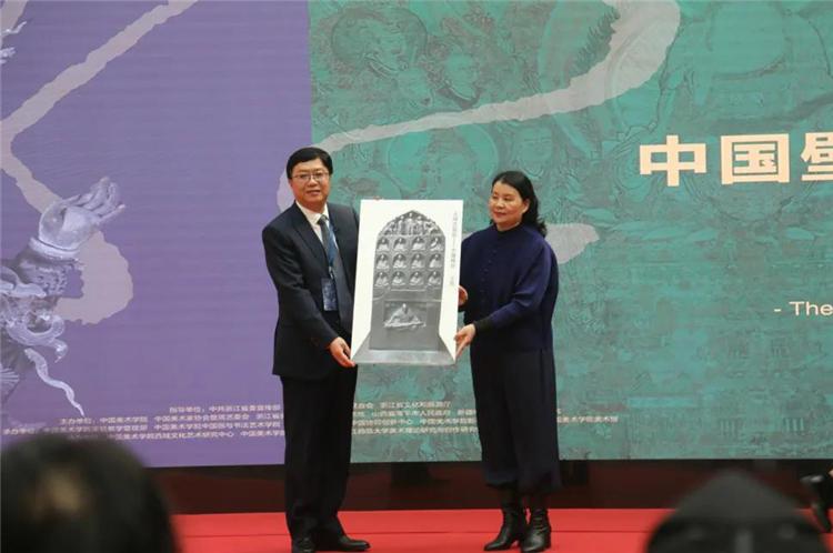 """第五届""""一带一路""""壁画论坛暨绝学之路·中国壁画艺术展在杭州举办"""