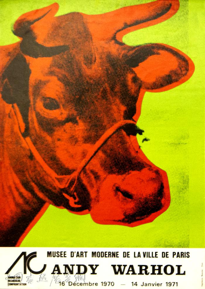 """安迪·沃霍尔的""""牛""""来到上海,见证浮华的波普时代"""