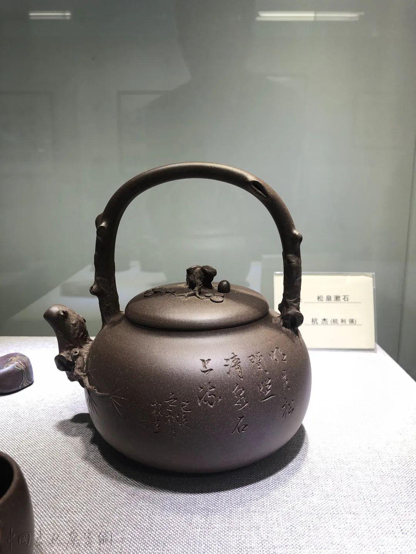"""当宜兴紫砂与海上书画相遇,上海闵行展""""翰墨金砂"""""""