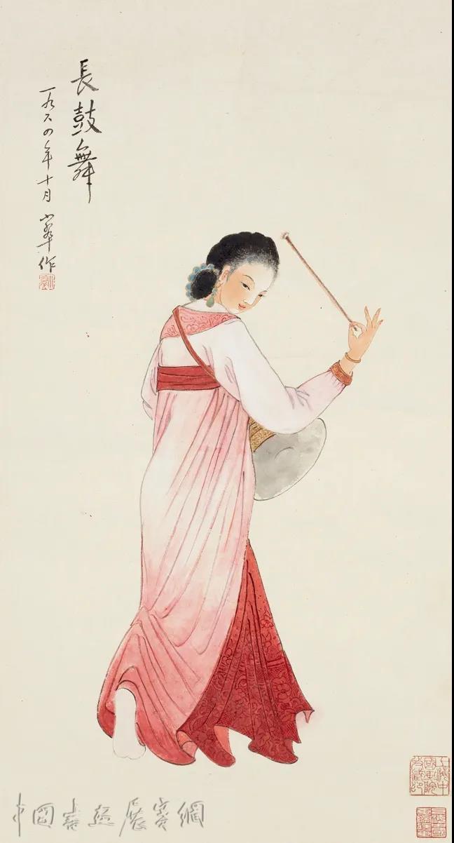 闺秀画家陈小翠的仕女人物画:是慰藉,也是理想