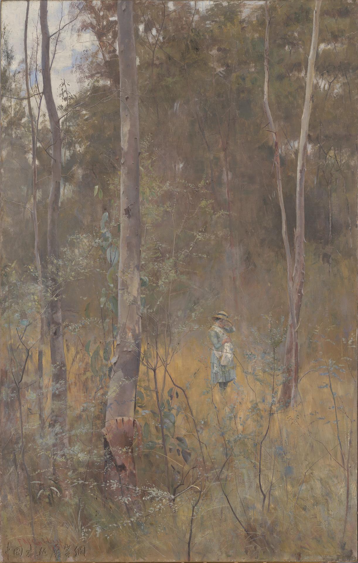 """""""香烟盒上的画""""与印象派在澳大利亚的发展"""